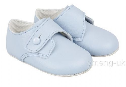 Gorgeous Bay Pods Baby Patent Buckle Pram Shoes